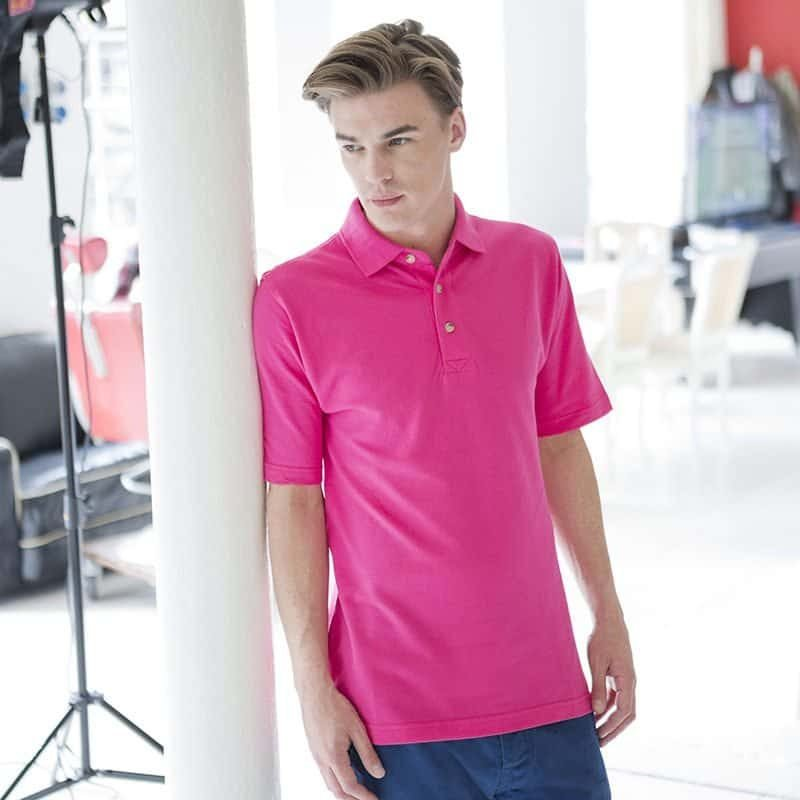 FS – Classic Cotton Piqué Polo with Stand-Up Collar