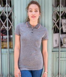 SOL'S Ladies Paname Heather Piqué Polo Shirt