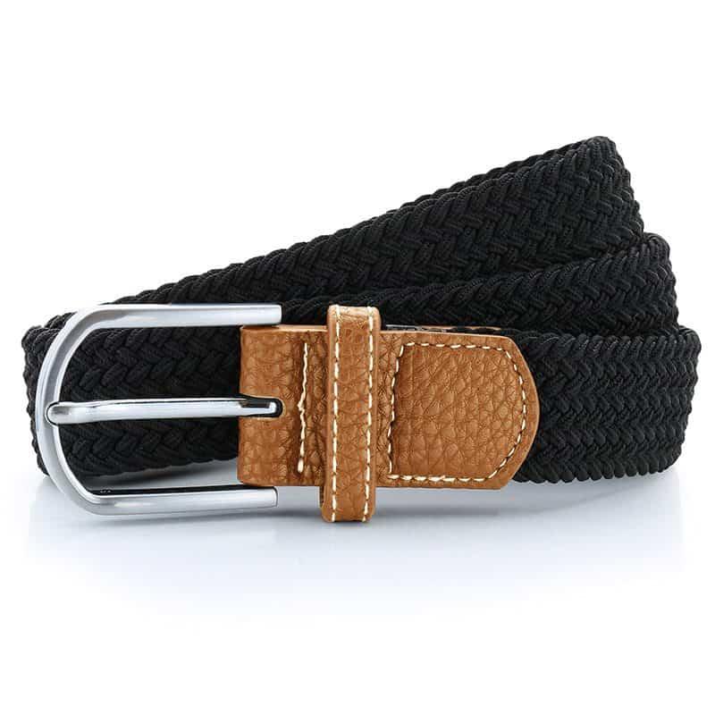 RSrnYC Braid Stretch Belt