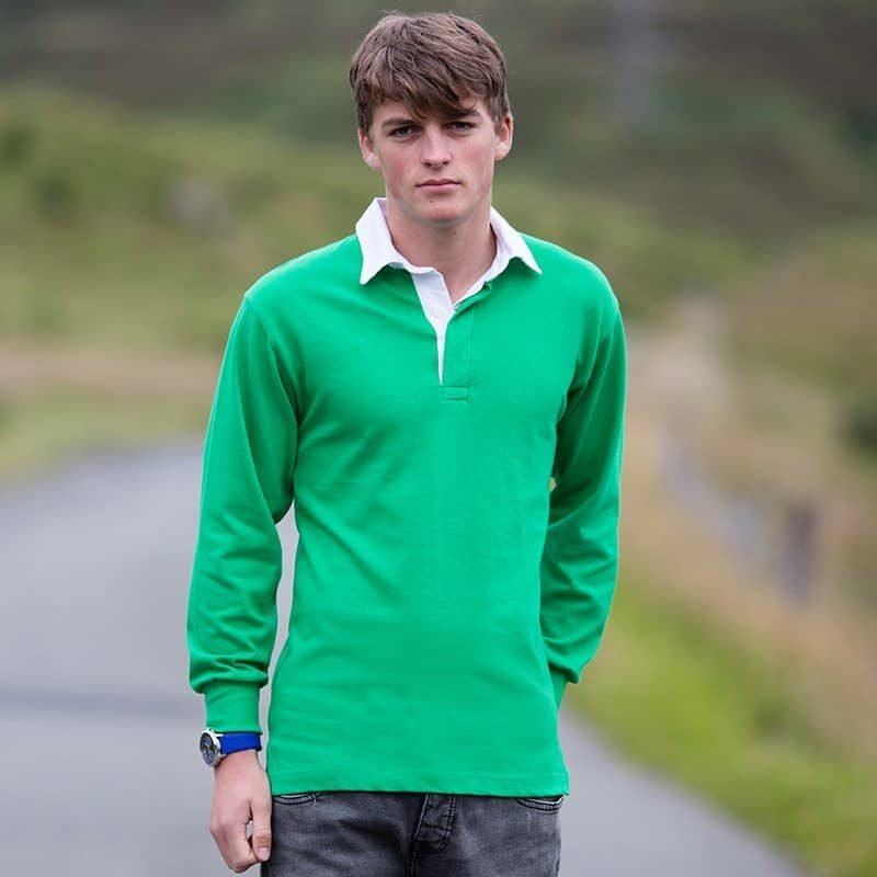 RAFYC Long Sleeve Plain Rugby Shirt