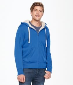 SOL'S Unisex Sherpa Hooded Jacket