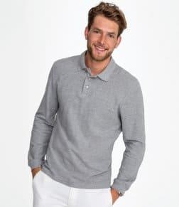 SOL'S Winter II Long Sleeve Cotton Piqué Polo Shirt