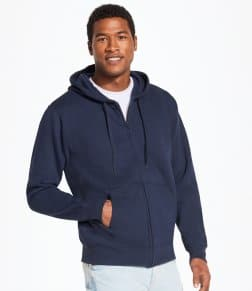 SOL'S Seven Zip Hooded Sweatshirt