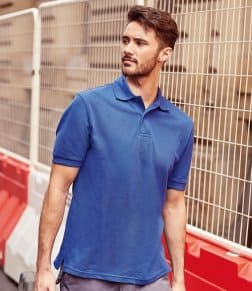 Russell Hardwearing Poly/Cotton Piqué Polo Shirt