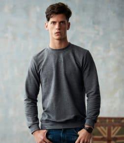 Anvil French Terry Drop Shoulder Sweatshirt