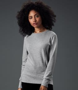Anvil Ladies French Terry Drop Shoulder Sweatshirt