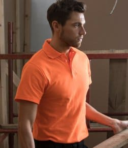 RTY Enhanced Visibility Piqué Polo Shirt