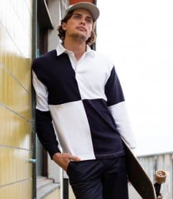 Front Row Quartered Rugby Shirt