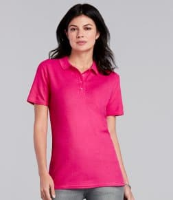 Gildan Ladies SoftStyle® Double Piqué Polo Shirt