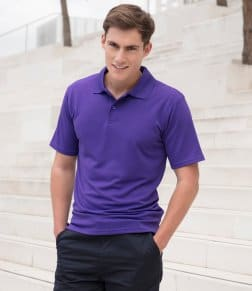 Henbury Coolplus® Wicking Piqué Polo Shirt
