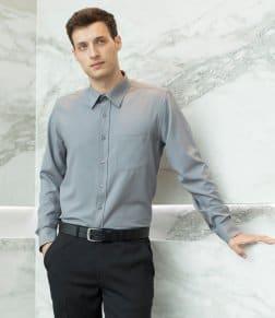 Henbury Long Sleeve Wicking Shirt