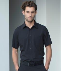 Henbury Short Sleeve Wicking Shirt