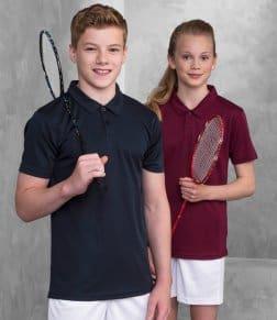 AWDis Kids Cool Wicking Polo Shirt