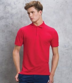 Kustom Kit Klassic Slim Fit Poly/Cotton Piqué Polo Shirt