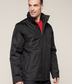 Kariban Factory Zip Off Sleeve Jacket