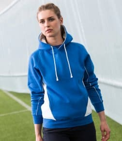 Finden &amp, Hales Contrast Hooded Sweatshirt
