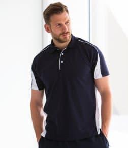Finden &amp, Hales Club Poly/Cotton Piqué Polo Shirt
