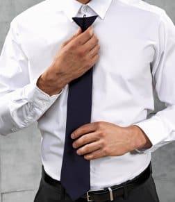 Premier 'Colours' Satin Clip Tie
