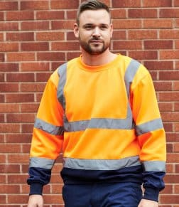 Portwest Hi-Vis Two Tone Sweatshirt