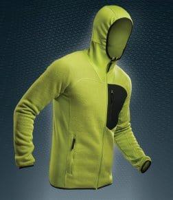Regatta X-Pro Coldspring Hybrid Hooded Fleece Jacket