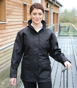 Result Work-Guard Ladies Platinum Managers Jacket