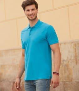 Fruit of the Loom Premium Cotton Piqué Polo Shirt