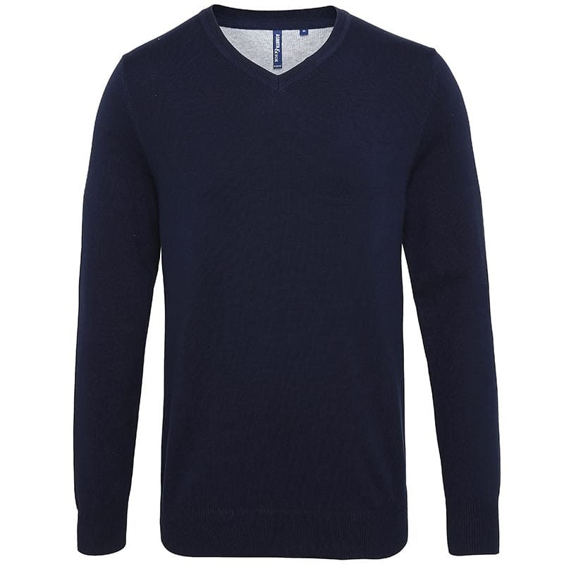 Asquith & Fox V-Neck Sweater Mens