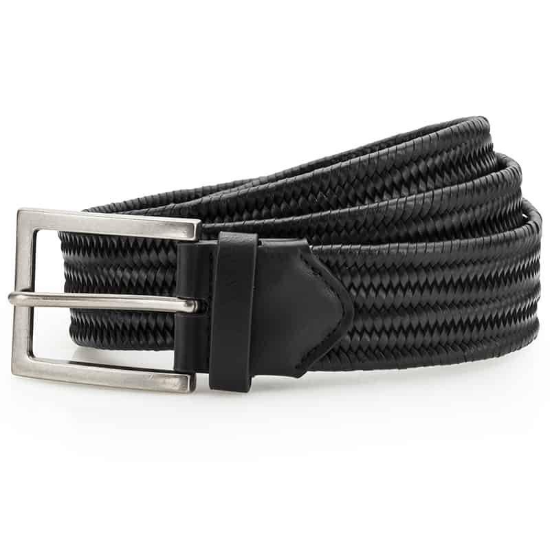 Asquith & Fox Leather Braid Belt